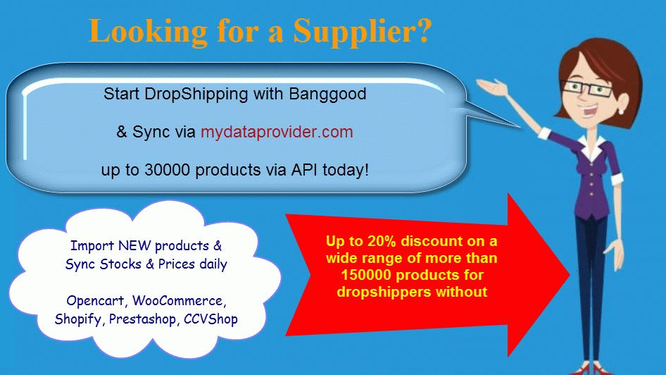 Try Banggood as your new supplier for dropshipping